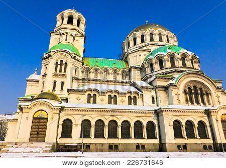 Alexander Nevsky Cathedral, Sofia, Bulgaria, Old Orthodox Church