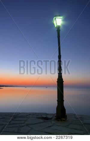 Bent Lamp Post