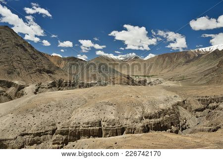 View On The Nubra Valley In Ladakh