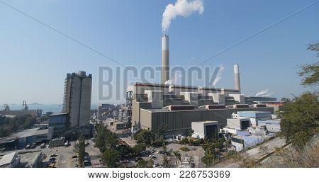 Coal fired power station in Hong Kong
