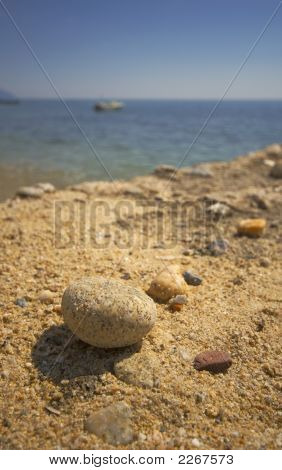 A Stone On A Jetty