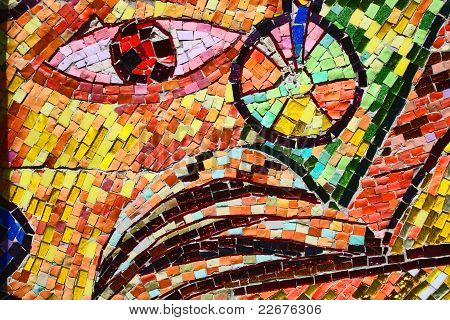 Colorful Mosaic Abstract