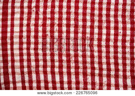 Background Texture, Pattern. Scarf Wool Like Yasser Arafat. The Palestinian Keffiyeh Is A Gender-neu