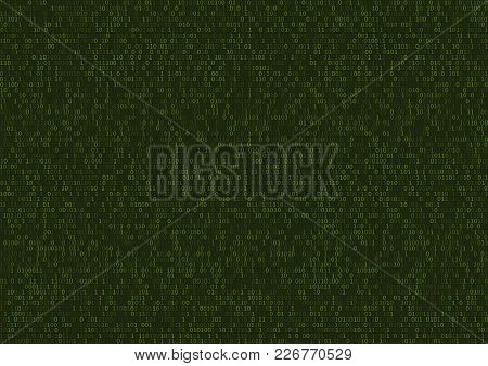 Abstract Technology Programming Code Background. Web Developer