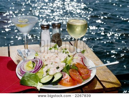 Fine Dining On The Water