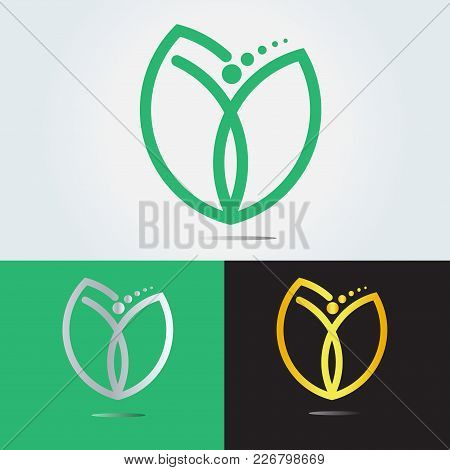 Life Coaching Design . Coach Logo Design. Combine Flour, Heart And Person .