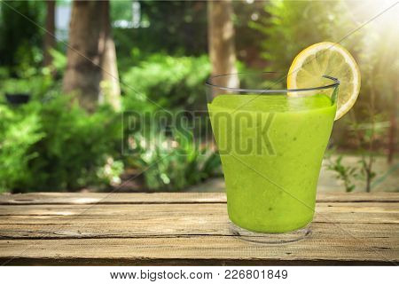 Glass Fresh Juice Healthy Lifestyle Low Calorie Natural Food Low Fat