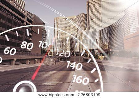 Car Modern Speedometer Color Image Nobody Design
