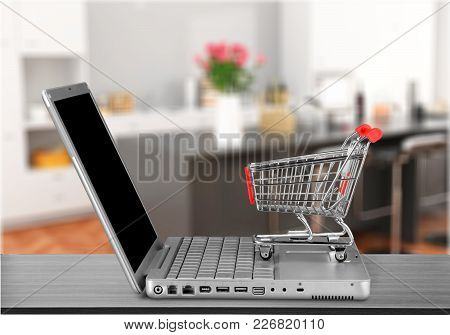 Shopping Cart Shop Laptop Shopping Cart Electronics Store Shopping Online