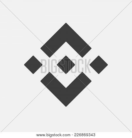 Binance Coin Bnb Vector Adapted Icon. Cryptocurrency E-currency, Payment Crypto Currency, Blockchain