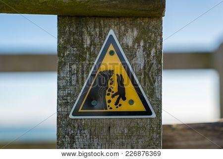 Sign: Danger Cliffs