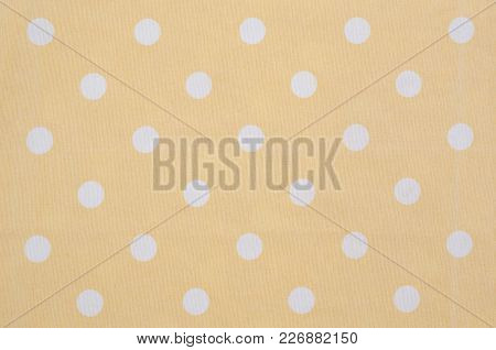 Kitchen Table Cloth Texture Or Background