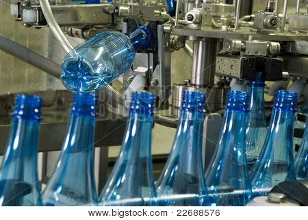 Water Bottle Production Machine