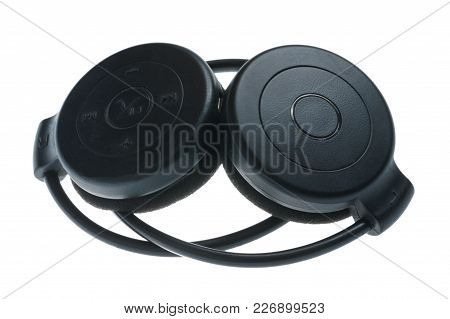 Wireless Headphones - Isolated On White Background
