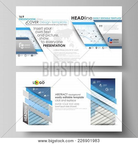 Business Templates In Hd Format For Presentation Slides. Easy Editable Abstract Vector Layouts In Fl