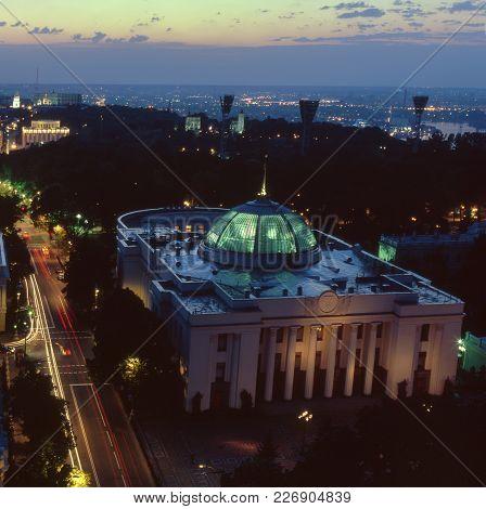 Ukrainian Parliament Top View