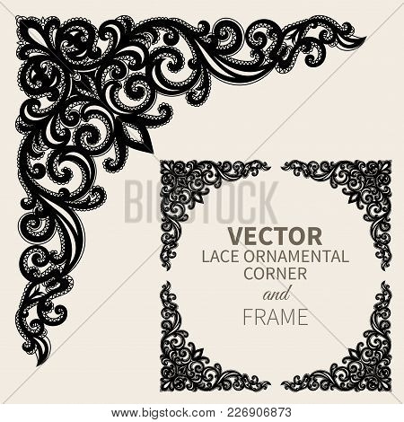 Floral Frame Border Decorative Vector Photo Bigstock