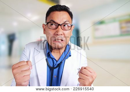 Funny Doctor Angry