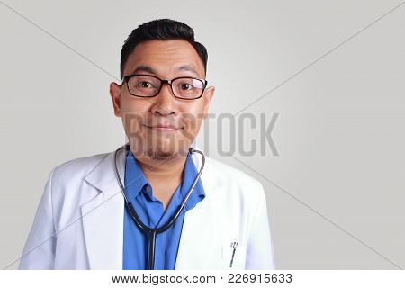 Funny Doctor Smiling