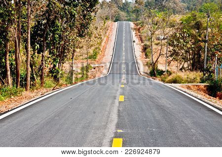 This Road Is Heading Forward For Tomorrow.
