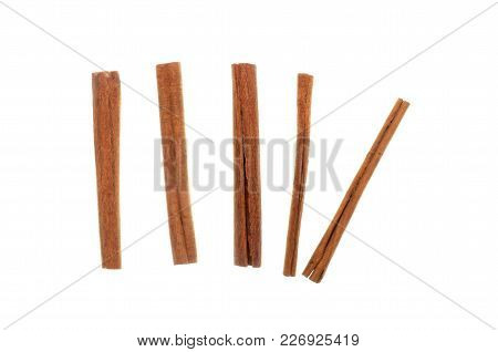Cinamon/cannella Stick Isolated On White Background