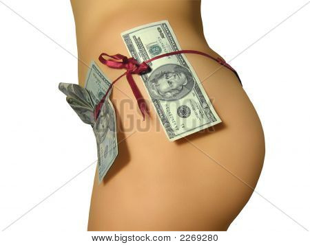 Women`S Back With A Money