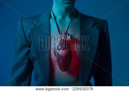 Man With A Red Heart, Cardiovascular Diseases