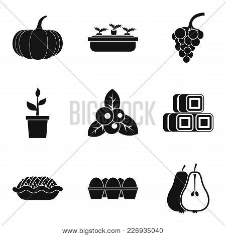 Yield Icons Set. Simple Set Of 9 Yield Vector Icons For Web Isolated On White Background