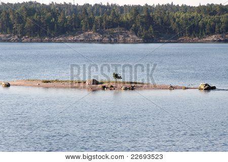Little island.