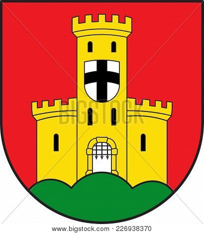Coat Of Arms Of Bad Godesberg Is A Municipal District Of Bonn In North Rhine-westphalia In Germany.