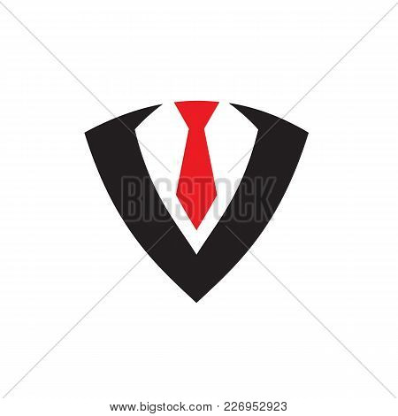 Suit, Tie, Tuxedo, Business, Worker, Job, Professional Icon Logo Vector. Made From 100% Vector Shape