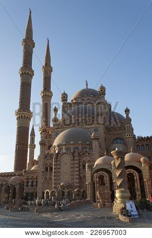 The Al Sahaba Mosque Is The Newest And Largest Mosque In Sharm El Sheikh