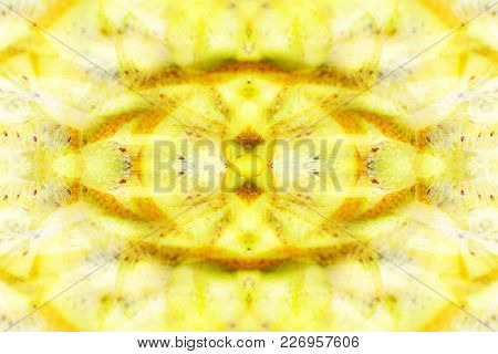 abstract symmetrical image obtained by reflection in mirrors, kaleidoscope
