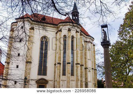 Kostel Saint Roch In Prague On Petrin Hill, Czech Republic