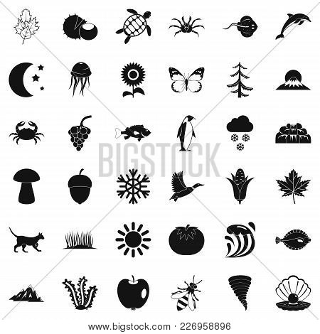 Temper Icons Set. Simple Set Of 36 Temper Vector Icons For Web Isolated On White Background