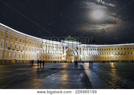 Russia. Petersburg. Monument To Tsar Peter 1,