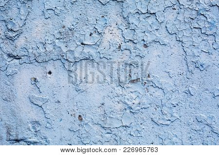 Vintage Of Light Blue Stone Texture Background