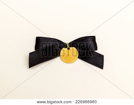 Bow Tie Isolated On A White Background