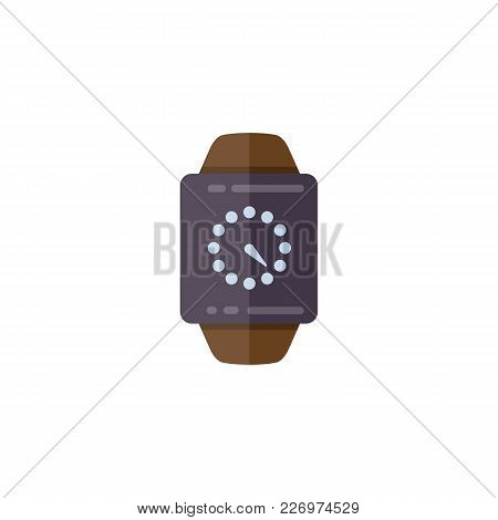 Time Management Planning And Control. Clock, Timer Vector Flat Illustration