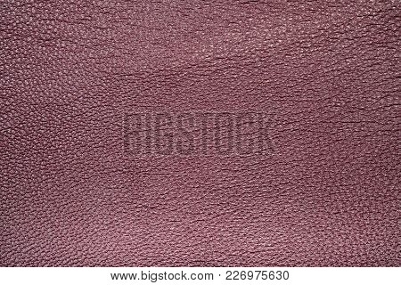 Seamless Exture Of A Surface From A Natural Skin Of Red Color. Close-up View.