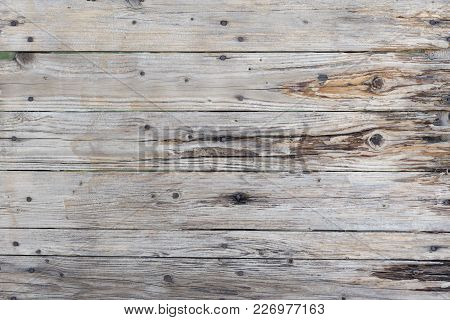 A Very Old And Deteriorated Wooden Background