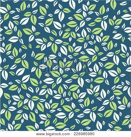 Leaves Pattern Vector Photo Free Trial Bigstock