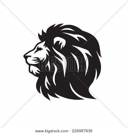Lion Classic Logo Template Vector Illustration Design