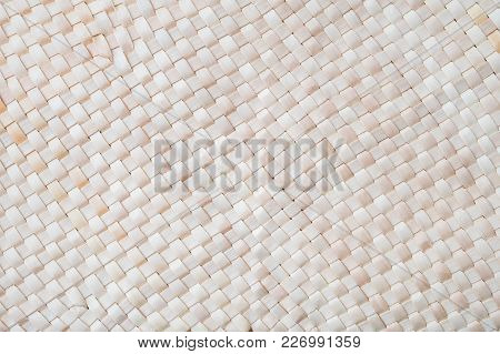 Handcraft Bamboo Weave Texture Background For Pattern