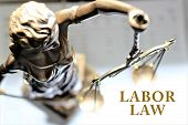 An concept Image of a Labor law poster