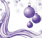 Abstract christmas background. Vector illustration. Suits well for Christmas card poster