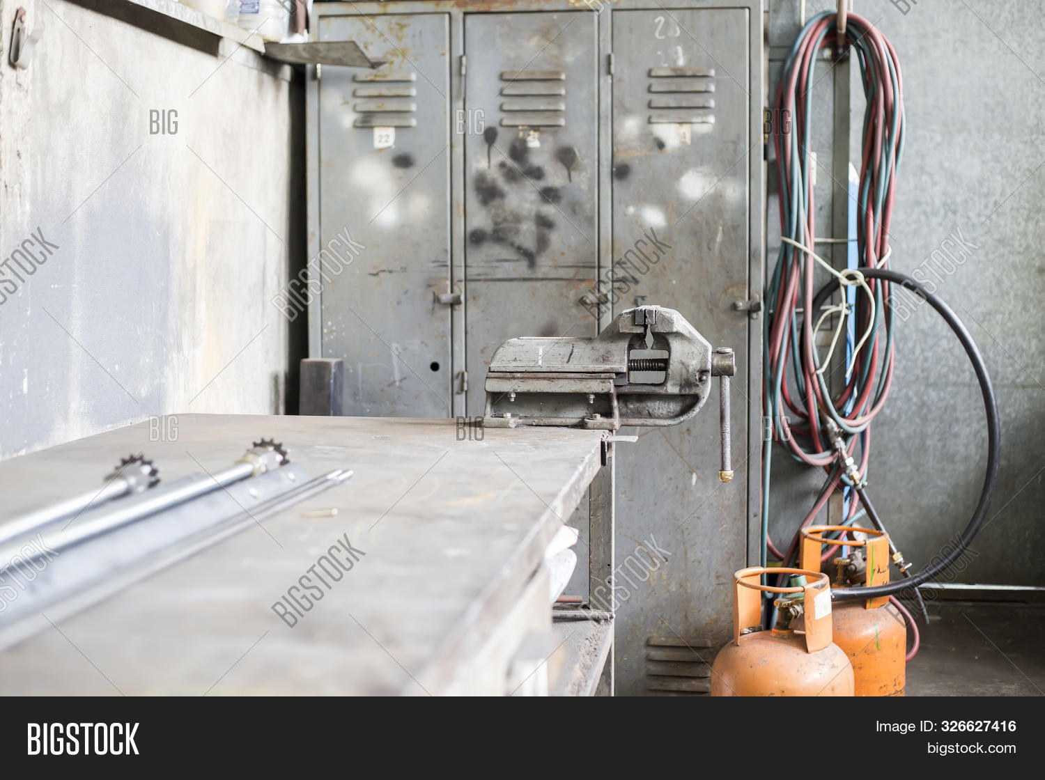 Old Rustic Mechanical Image Photo Free Trial Bigstock