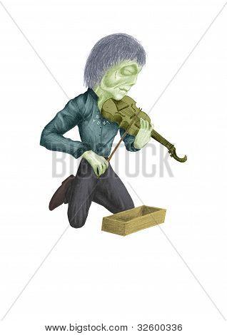 Zombie Violinist