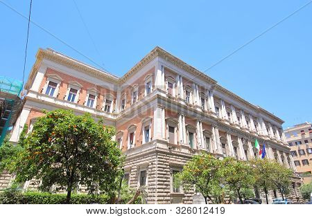 Ministry Of Agriculture And Forestry Rome Italy. Translation For Italian- Ministry Of Agriculture An
