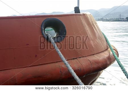 Ship Mooring Device For Ships. Berth For Mooring Vessels.